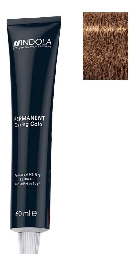 Стойкая крем-краска для волос Permanent Caring Color 60мл: 8.80 Светлый русый шоколадный натуральный крем краска для волос indola color red