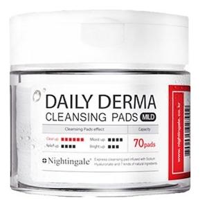 Очищающие пэды для лица с мягкой кислотностью Daily Derma Cleansing Pads Mild 70шт недорого