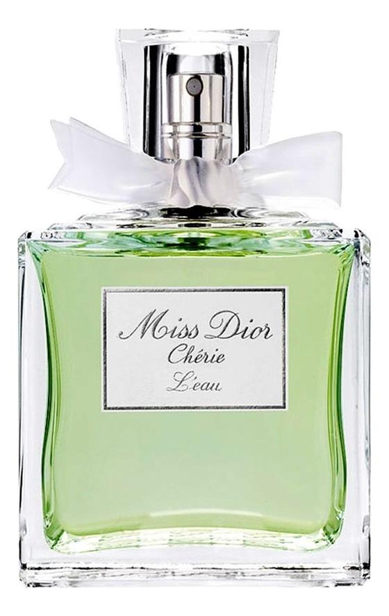 Miss Dior Cherie L'eau: туалетная вода 100мл тестер недорого