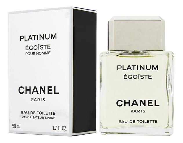 Egoiste Platinum: туалетная вода 50мл недорого