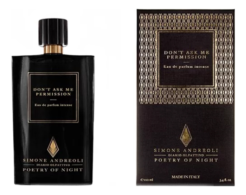 Купить Don't Ask Me Permission: парфюмерная вода 100мл, Simone Andreoli