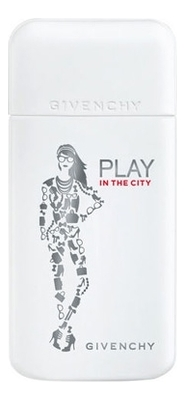 Givenchy Play in the City Pour Femme: парфюмерная вода 50мл тестер