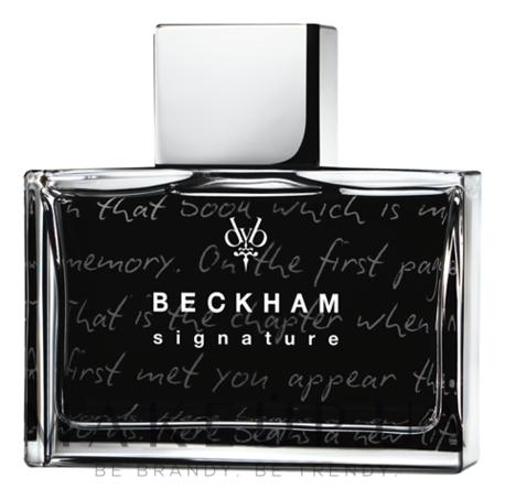 David Beckham Signature Story For Men: туалетная вода 75мл тестер