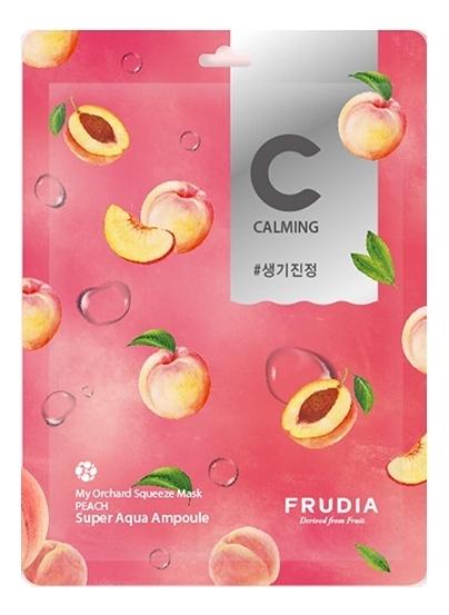 Питательная маска для лица с экстрактом персика My Orchard Squeeze Mask Peach 20мл: Маска 10шт фото