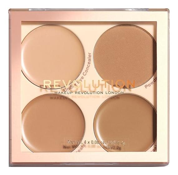 Палетка для макияжа лица Matte Base Concealer Palette Kit 2,2г: C9-12
