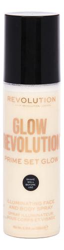 Спрей-иллюминайзер для лица и тела Glow Revolution Illuminating Spray 200мл: Eternal Gold