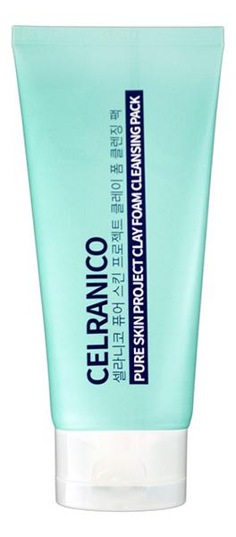 Очищающая маска-пенка для лица с экстрактом белой глины Pure Skin Project Clay Foam Cleansing Pack 150мл a pieu маска пенка глиняная phytoncide clay pack to foam 100 г