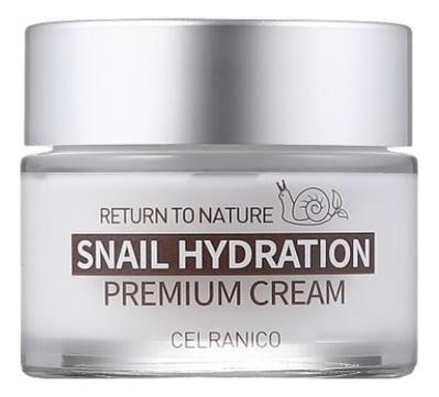 Укрепляющий крем для лица с муцином улитки Return To Nature Snail Hydration Premium Cream 50мл