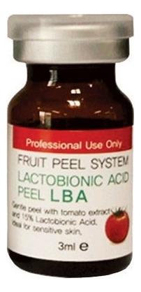 Лактобионовый пилинг для лица Fruit Peel System Lactobionic Acid Peel LBA: Пилинг 3мл lc пилинг lactic acid 70%