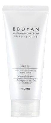 Осветляющий крем для тела Вbоyаn Whitening Body Cream SPF15 PA+ 130мл
