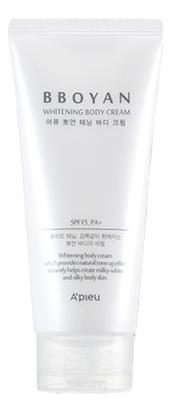 Осветляющий крем для тела Вbоyаn Whitening Body Cream SPF15 PA+ 130мл недорого