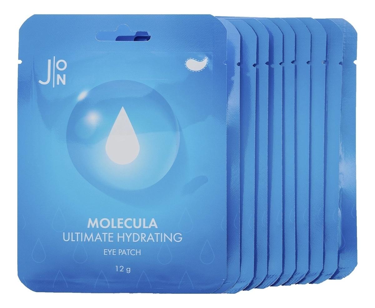 Купить Тканевые патчи для кожи вокруг глаз Molecula Ultimate Hydrating Eye Patch: Патчи 10*12г, J:ON