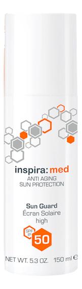 Солнцезащитная эмульсия Inspira: Med Anti Aging Sun Protection Guard SPF50: Эмульсия 150мл