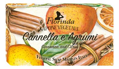 где купить Натуральное мыло Cannella E Agrumi 100г: Мыло 100г дешево