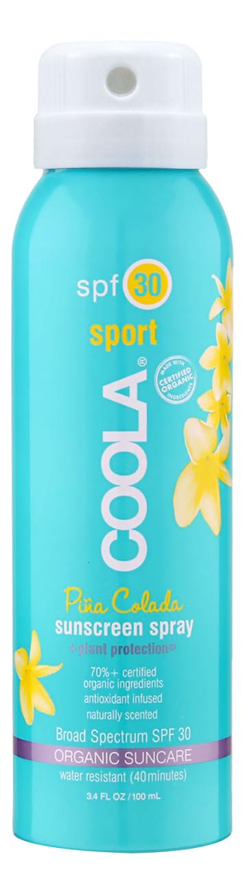 Солнцезащитный спрей для тела Body Sunscreen Spray Pina Colada SPF30: Спрей 100мл солнцезащитный спрей для тела sport sunscreen spray unscented spf50 спрей 177мл
