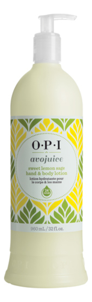 Лосьон для рук и тела Avojuice Sweet Lemon Sage Hand & Body Lotion (лимон): 960мл