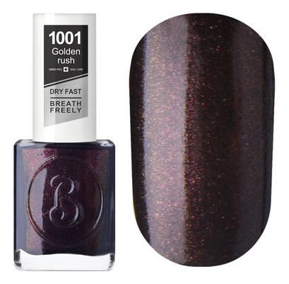Купить Дышащий лак для ногтей Golden Rush 15мл: 1001 Golden Mine, BERENICE