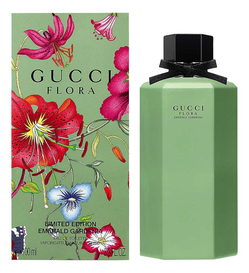Gucci Flora Emerald Gardenia: туалетная вода 100мл penhaligons gardenia туалетная вода 100 мл