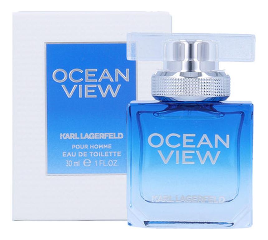 Купить Ocean View Pour Homme: туалетная вода 30мл, Karl Lagerfeld