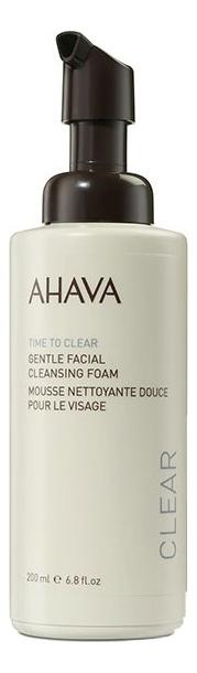 Нежная очищающая пенка для лица Time To Clear Gentle Facial Cleansing Foam 200мл