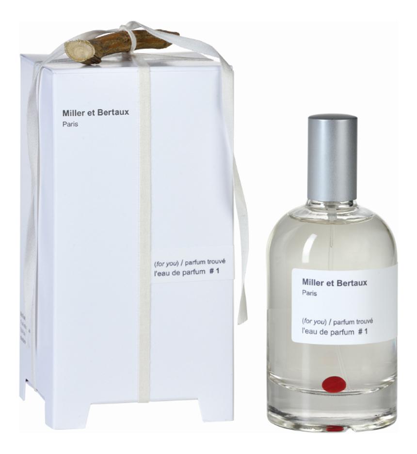 Купить L'eau de parfum No 1 Parfum Trouve: парфюмерная вода 100мл, Miller et Bertaux