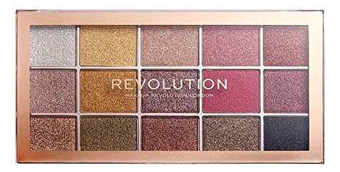 Палетка теней Foil Frenzy Eyeshadow Palette revolution makeup 32 ultra eyeshadow palette mermaids forever