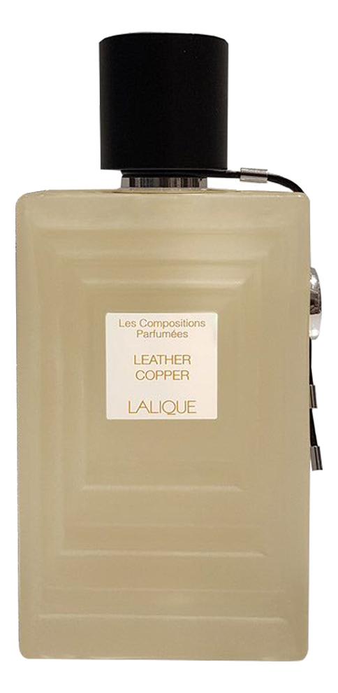 Фото - Lalique Leather Copper: парфюмерная вода 100мл тестер lalique encre noire sport туалетная вода 100мл тестер