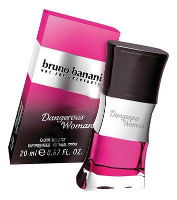 Bruno Banani Dangerous Woman: туалетная вода 20мл недорого