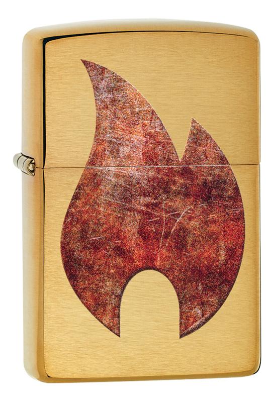Купить Зажигалка бензиновая Rusty Flame 29878, Zippo