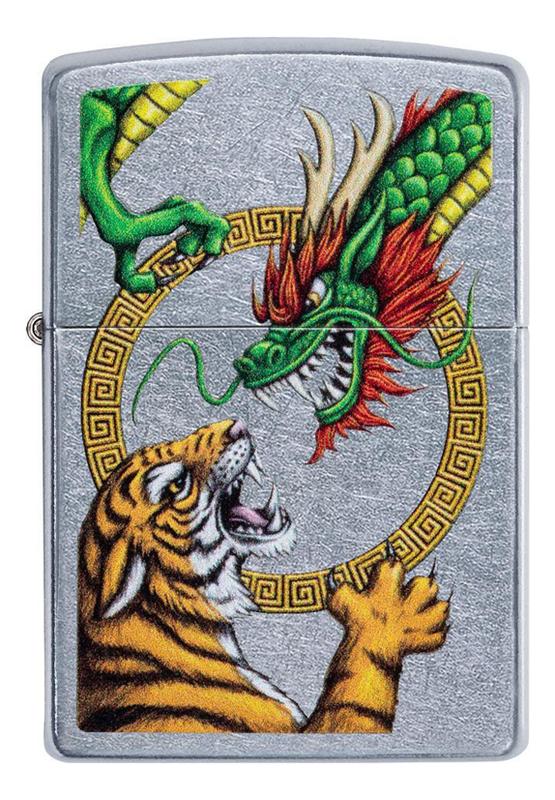 Купить Зажигалка бензиновая Dragon Design 29837, Zippo