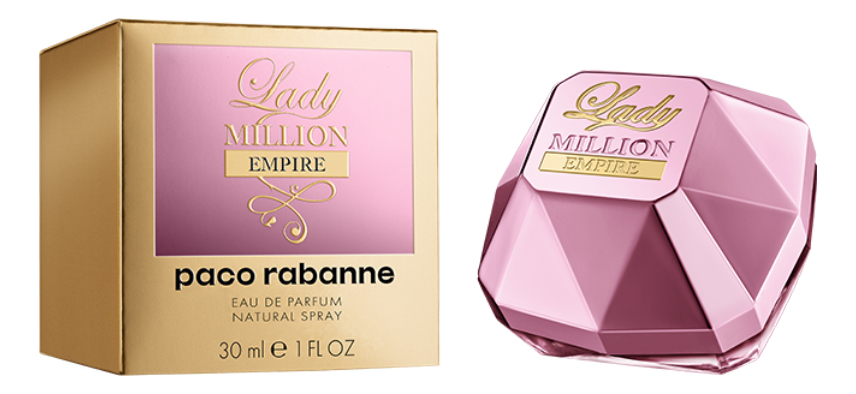 Paco Rabanne Lady Million Empire: парфюмерная вода 30мл paco rabanne lady million monopoly парфюмерная вода 80мл