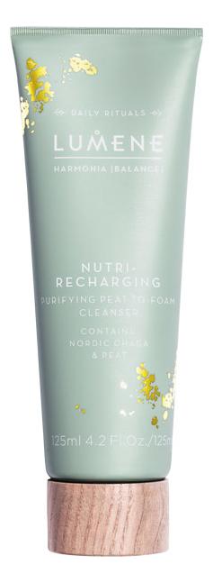 Восстанавливающее очищающее средство для лица Harmonia Nutri-Recharging Purifying Peat-To-Foam Cleanser 125мл