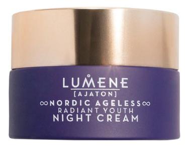 Интенсивный ночной крем для лица Ajaton Nordic Ageless Radiant Youth Night Cream 50мл