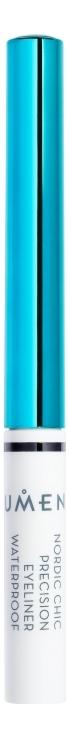 Ультраточный водостойкий лайнер для глаз Nordic Chic Precision Eyeliner Waterproof Black 1,7мл