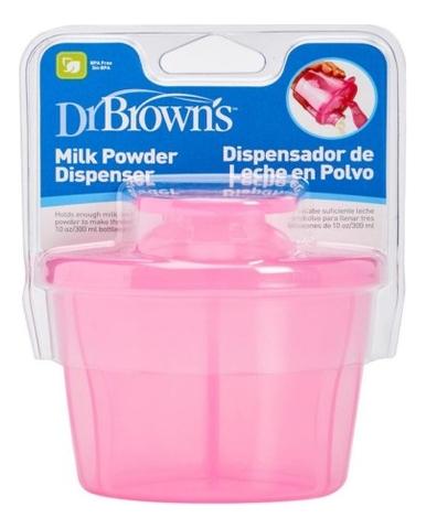 Контейнер-дозатор для сухой смеси AC038 (розовый)