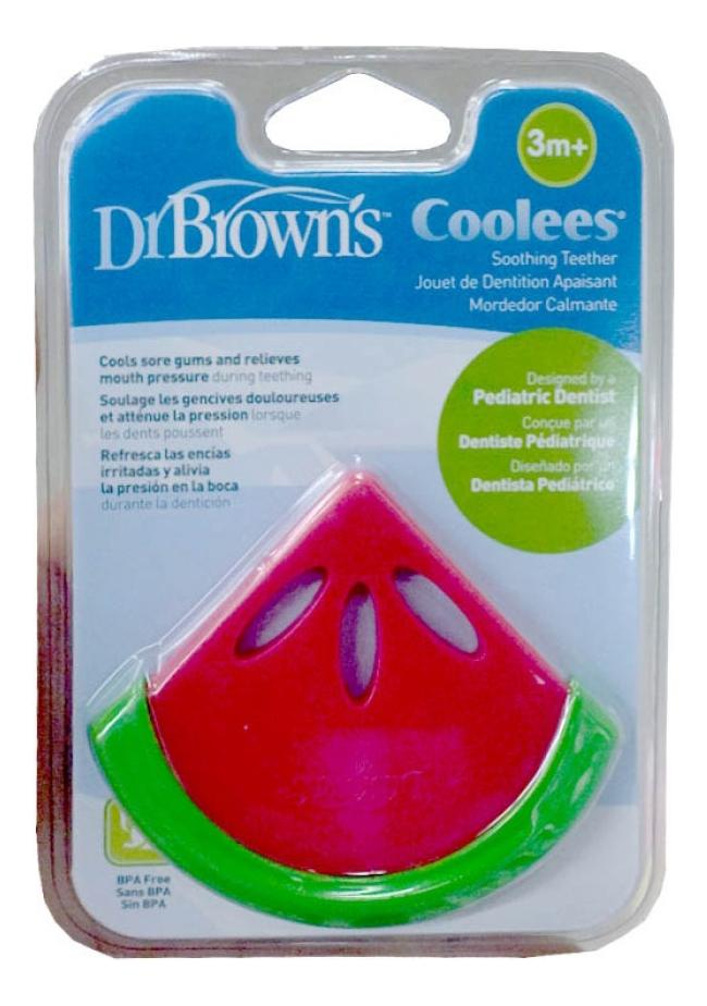 Фото - Прорезыватель для зубов Coolees Арбузик TE220 dr browns прорезыватель coolees