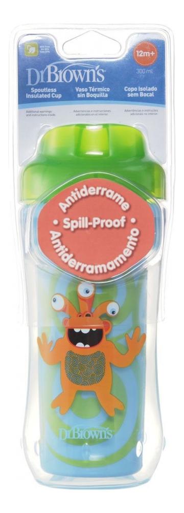 Чашка-термос без носика Зеленый Монстр Spoutless Insulated Cup TC01012 300мл (от 12 мес)