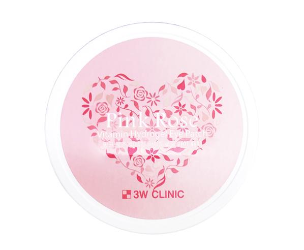 Гидрогелевые патчи для кожи вокруг глаз Pink Rose Vitamin Hydrogel Eye Patch 60шт