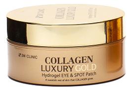 Гидрогелевые патчи для кожи вокруг глаз с коллагеном и коллоидным золотом Collagen & Luxury Gold Hydrogel Eye Spot Patch...