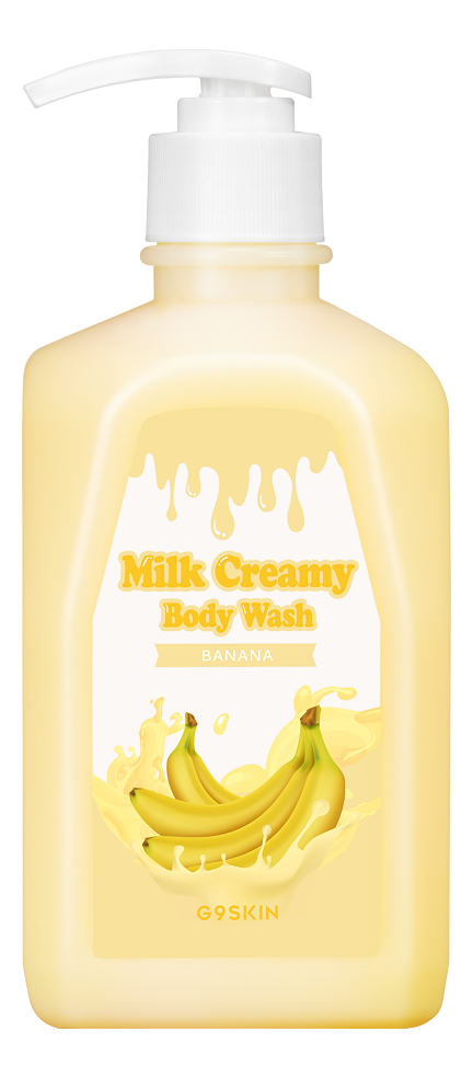 Гель для душа Milk Creamy Body Wash Banana 520г