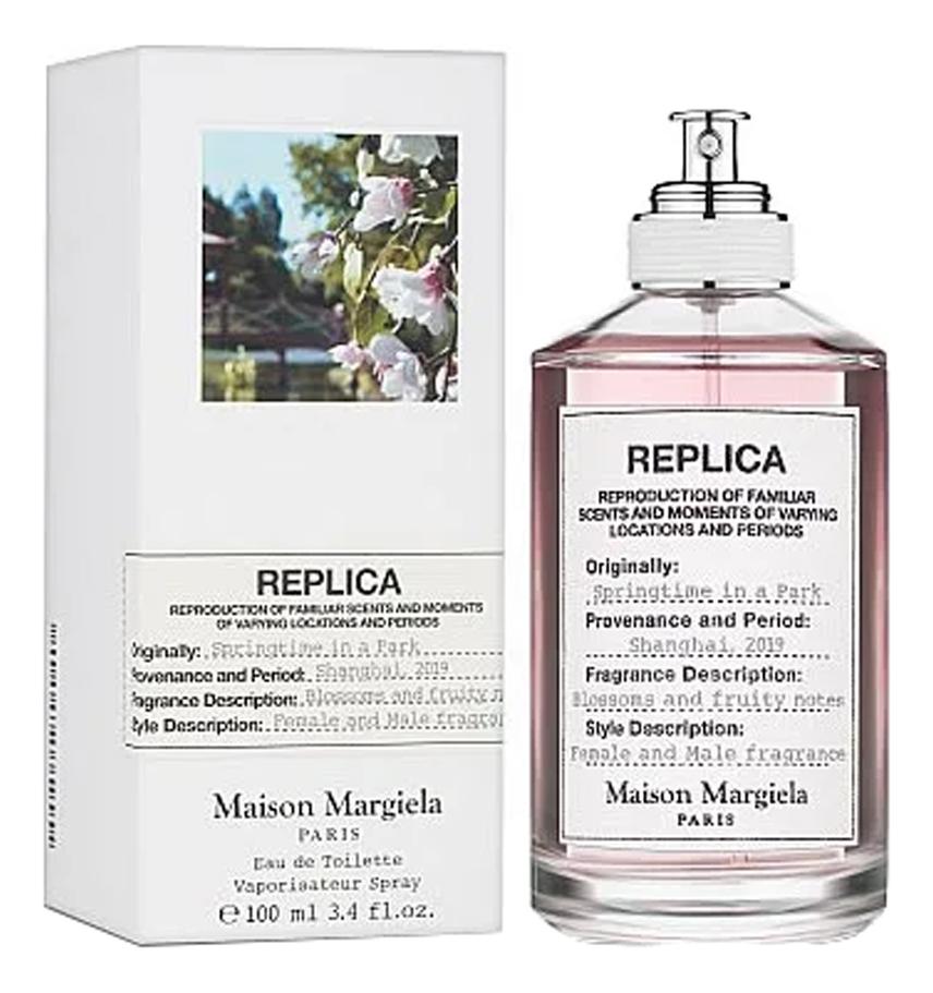 Купить Replica Springtime In A Park: туалетная вода 100мл, Maison Martin Margiela