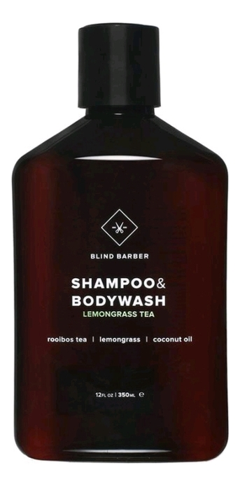 Шампунь для волос и тела Shampoo & Bodywash Lemongrass Tea: Шампунь 100мл твердый шампунь для волос пребиотики и лемонграсс lemongrass shampoo bar 75г