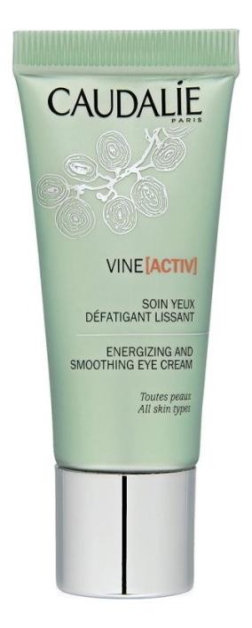 Купить Тонизирующий и разглаживающий крем для кожи вокруг глаз Vine Activ Soin Yeux Defatigant Lissant 15мл, Caudalie