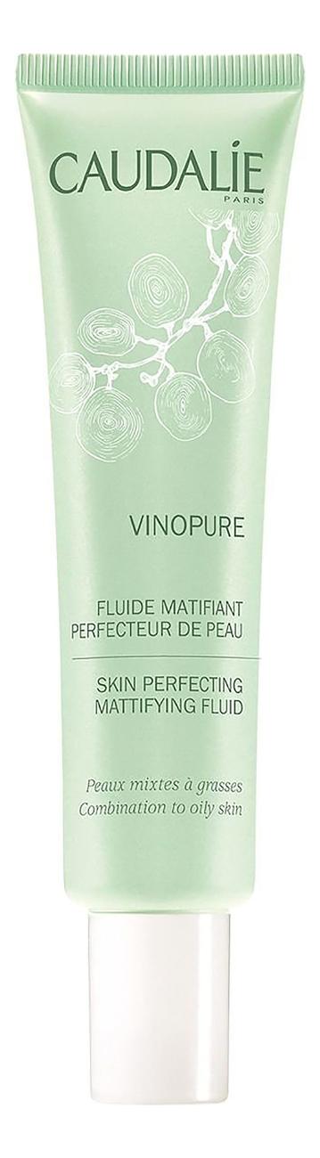 Матирующий флюид для сужения пор Vinopure Fluide Matifiant Perfecteur De Peau 40мл урьяж исеак уход 40мл матирующий