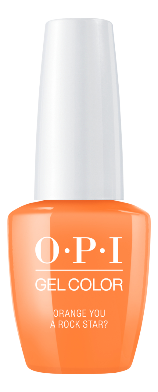 Купить Гель-лак для ногтей Gel Color 15мл: Orange You a Rock Star?, OPI