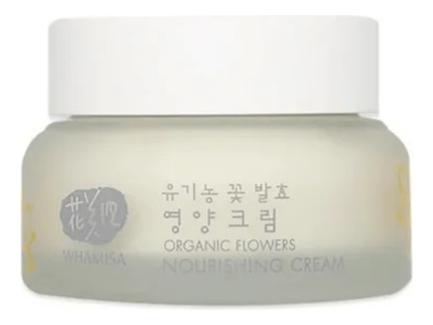 Крем питательный день и ночь на основе цветочных ферментов Organic Flowers Nourishing Cream Day & Night 50мл