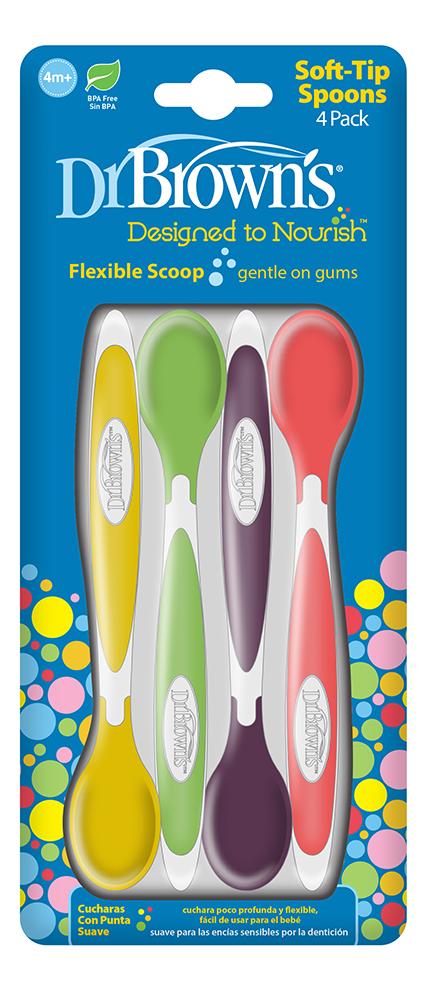 Ложечка мягкая для кормления Designed to Nourish TF009 4шт фото