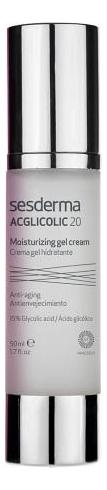 Крем-гель для лица Acglicolic 20 Crema Gel Hidratante 50мл гель крем для лица alpha homme genwood hydro 50мл