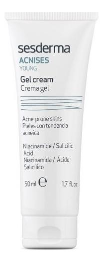 Крем-гель для лица Acnises Young Crema Gel Tratante 50мл гель крем для лица alpha homme genwood hydro 50мл