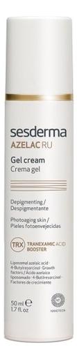 Крем-гель для лица депигментирующий Azelac RU Crema Gel 50мл крем гель для лица антивозрастной reti age crema gel antienvejecimiento 50мл